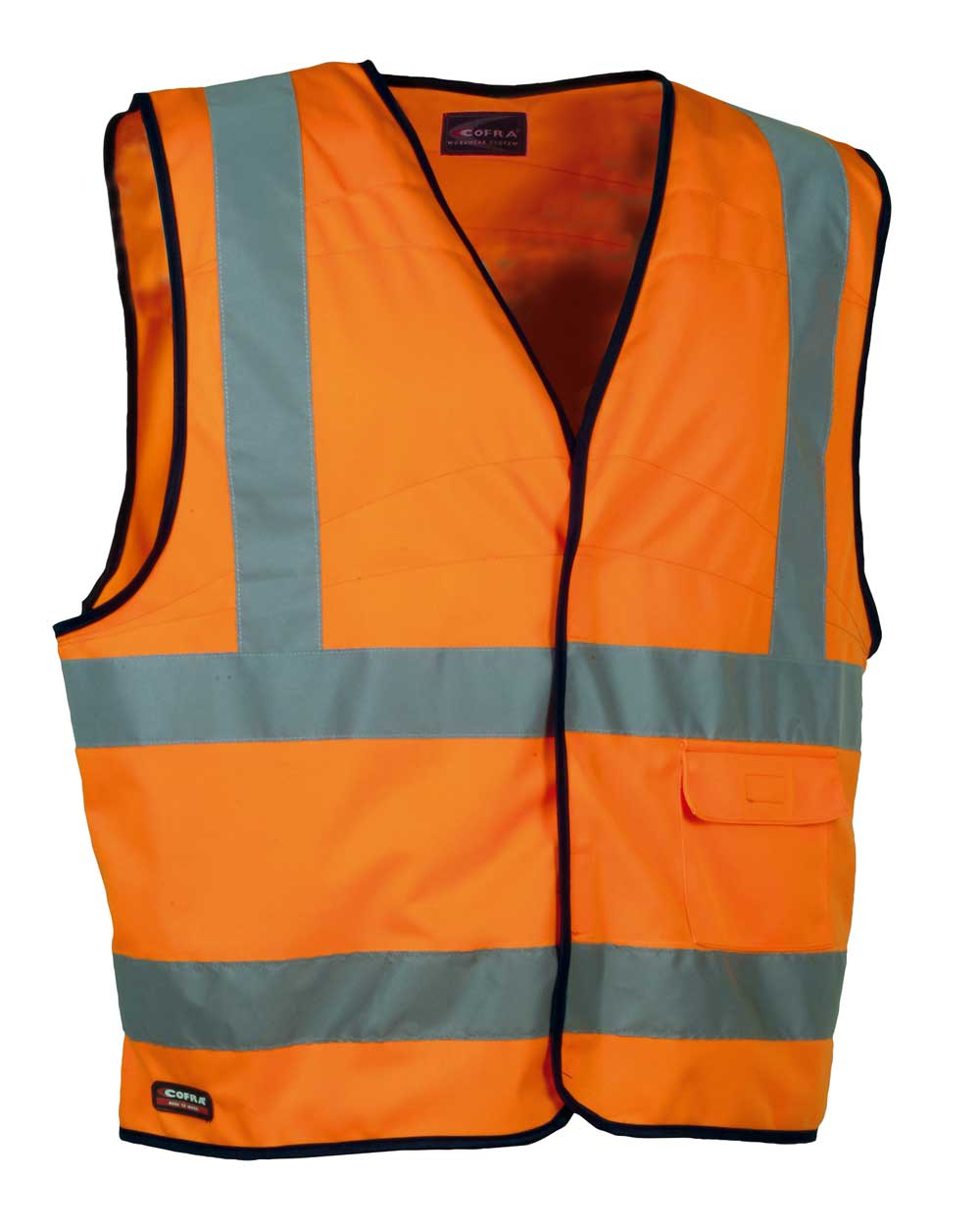 Cofra CLEAR High Visibility Waistcoat (orange) Size L