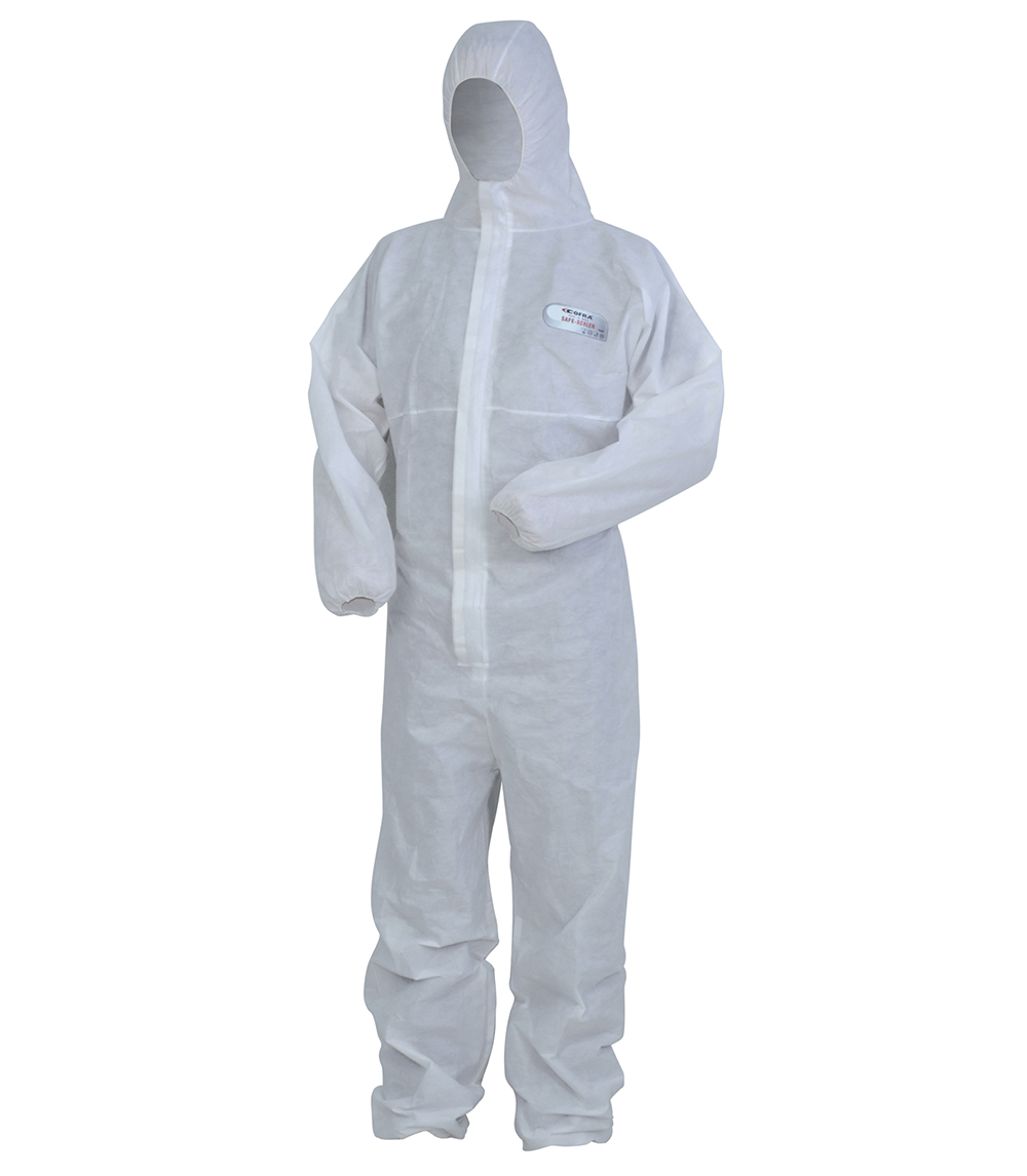 Cofra SAFE-SCREEN Disposable coverall clothing  Size L