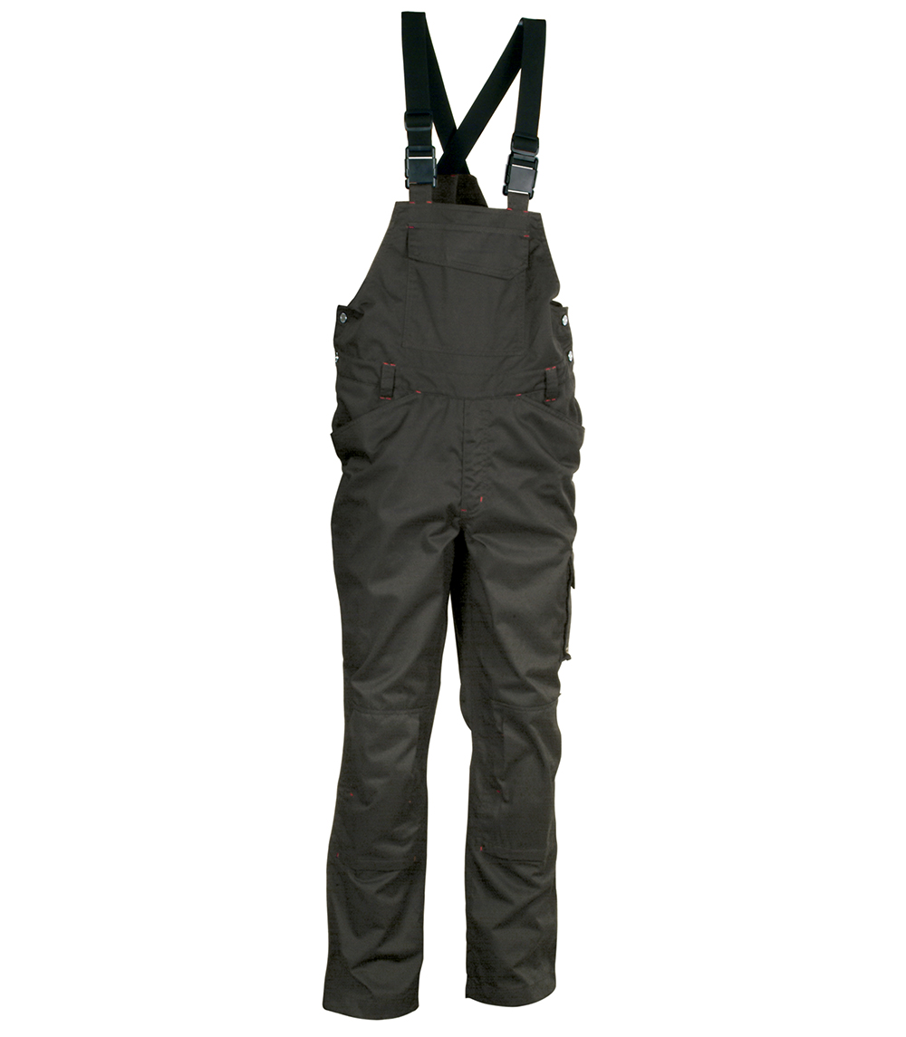 Cofra MOMBASA Overalls with braces (Anthracite) Size L