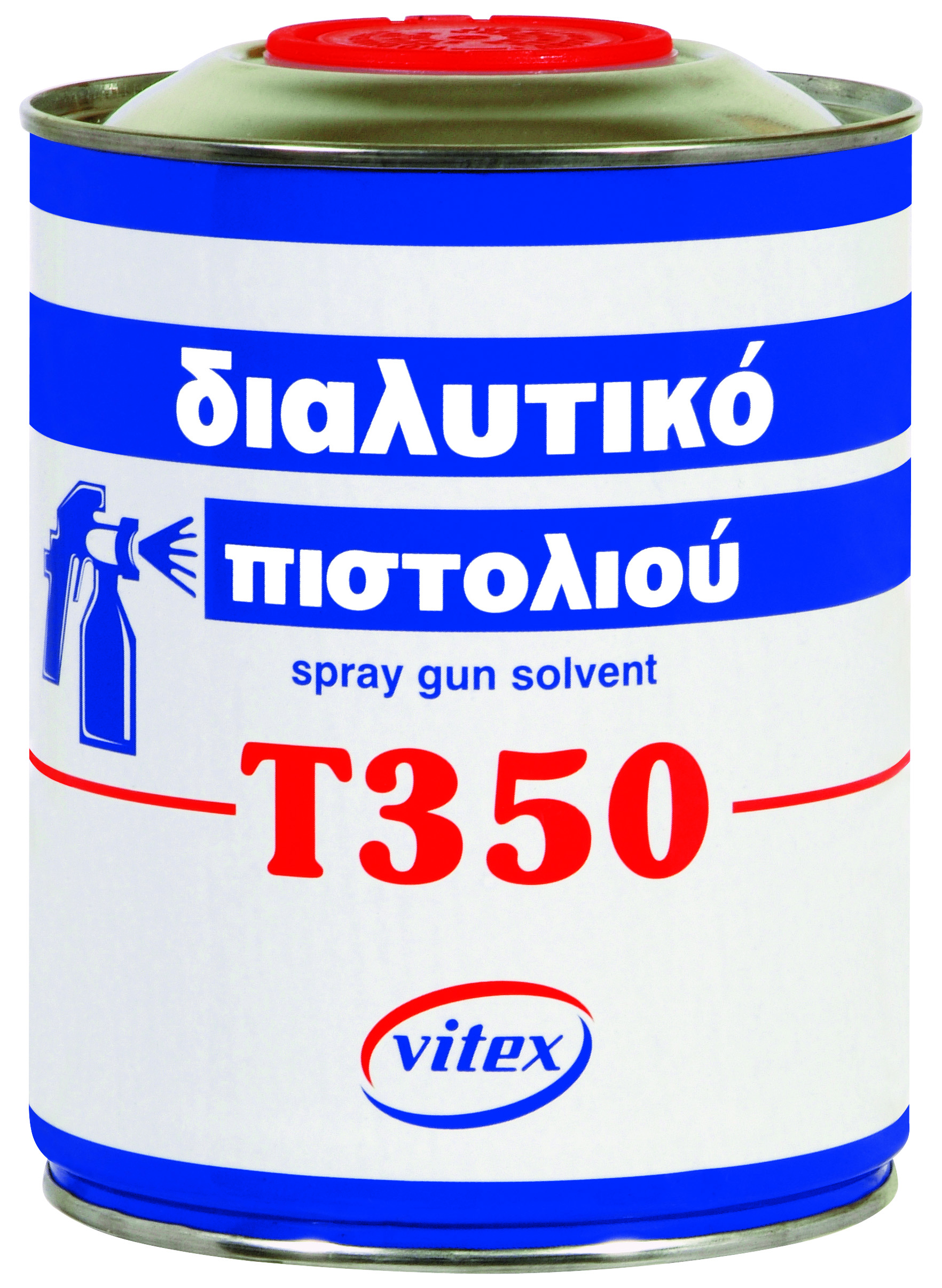 Spray Gun Solvent T-350 375mL