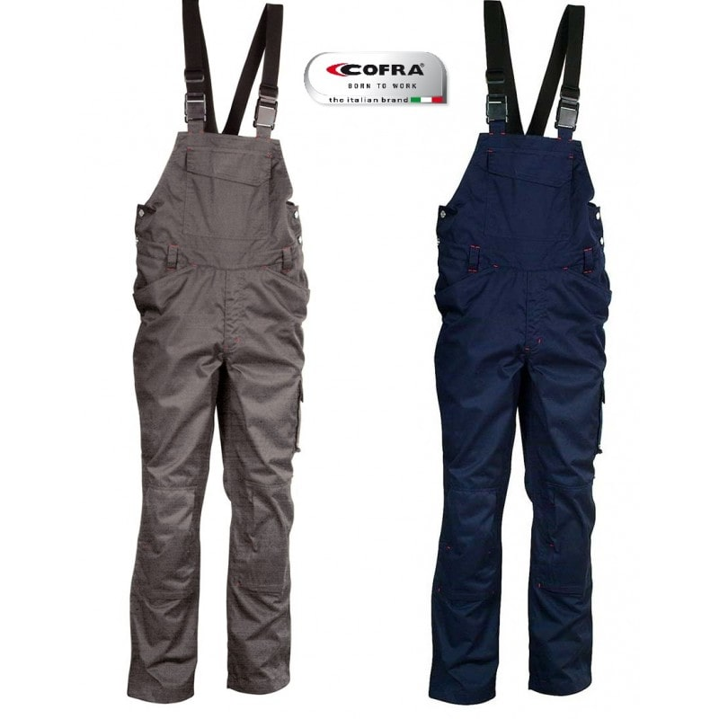 Cofra MOMBASA Overalls with braces Navy Size S