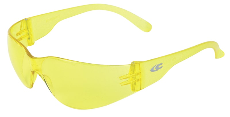 Cofra ROUNDFIT Safety glasses yellow lens