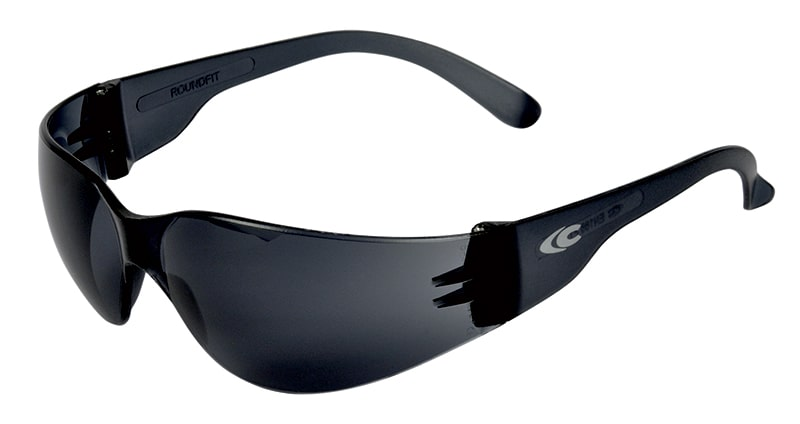 Cofra ROUNDFIT Safety glasses grey lens